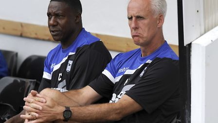 Terry Connor and Mick McCarthy