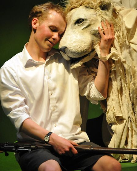Michael Morpurgo's The Butterfly Lion which launched the Colchester Mercury's autumn season. Picture