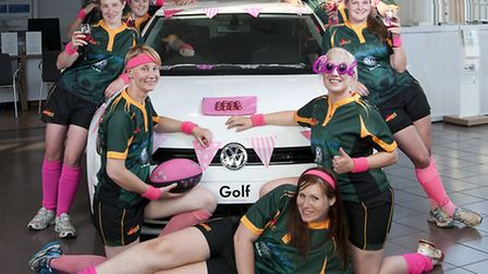 Bury Foxes women's rugby club is being sponsored by Volkswagen Bury St Edmunds.