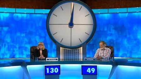 Retired teacher Ian Toulson, from Walsham-le-Willows, on Countdown.