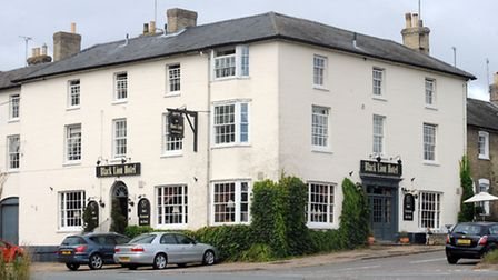 Food review at The Black Lion in Long Melford.