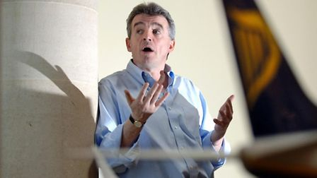 Michael O'Leary, chief executive of Ryanair.