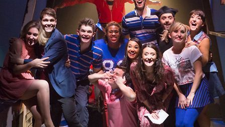 The cast of Our House, the musical, featuring the songs of 1980s band Madness.
