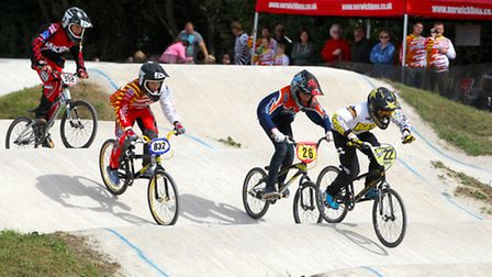 East Anglia BMX Championships at Braintree BMX Track - photo courtesy of Spencer Moret