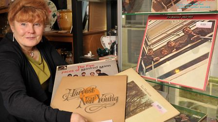 The Red Cross charity shop in Woodbridge has had some rare Beatlkes albums handed in as well as some