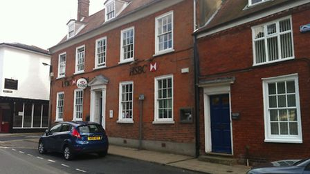 HSBC has announced that it is closing its branch in Framlingham