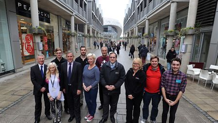 The Arc in Bury is set to be fully occupied by shops.