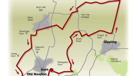 Route of the hills and a hamlet walk