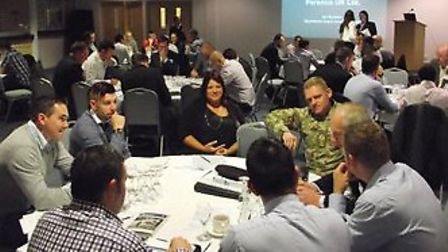 A Military Energy Industry Awareness event at Colchester Football Club on October 15 was organised a