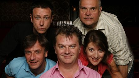Paul Merton and his Impro Chums: Mike McShane, Lee Simpson, Richard Vranch and Suki Webster