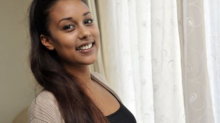 Jellyna Moore, of Ipswich, has won a spot in the Miss England semi-finals next May after winning the