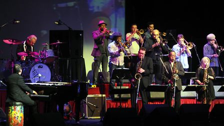 Jools Holland and the Rhythm and Blues Orchestra at The Regent, Ipswich