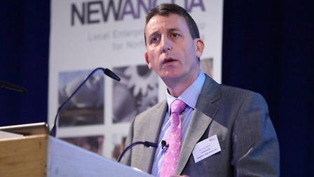 Andy Wood, chairman of the New Anglia Local Enterprise Partnership.