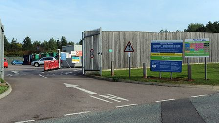 The Recycling Centre in Bury.