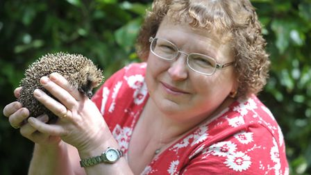 Ros Rumbold, with one of her patients
