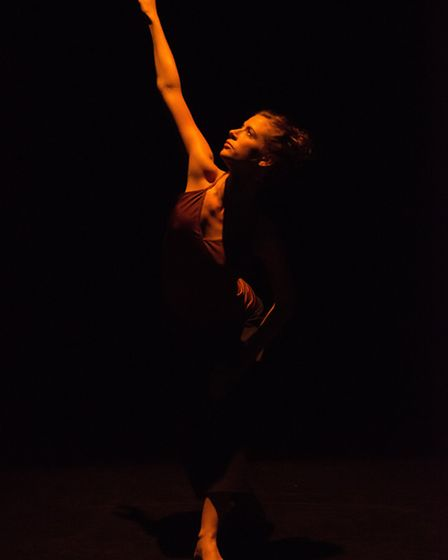 Still Current by Russell Maliphant is being staged at the Jerwood DanceHouse. Dancers include Carys
