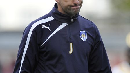 Joe Dunne, whose Colchester side will entertain Sheffield United in the first round of the FA Cup