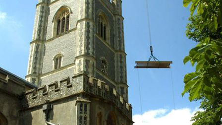 Could a broadband mast be added to Dedham church?