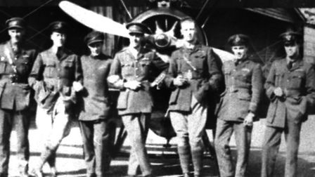 Pilots at Stow Maries during the First World War