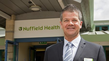 Ian Milne, hospital director at the Nuffield in Ipswich.