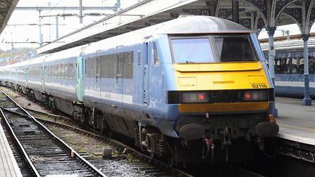 Trains to and from the capital are delayed
