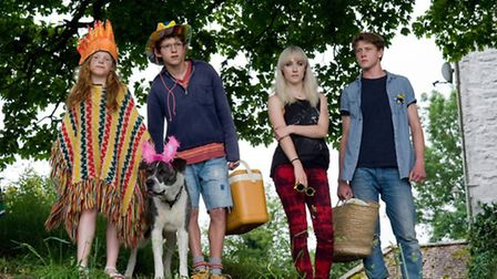 Saoirse Ronan as Daisy, and her cousins, in the film How I Live Now. Photograph: Entertainment One U