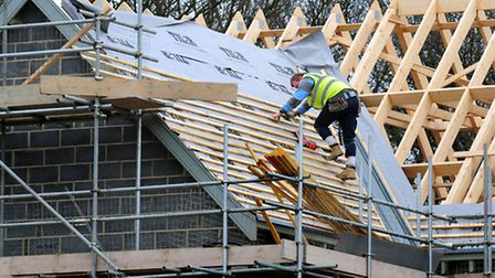 Eight major construction companies have agreed to set up a compensation scheme for workers who were