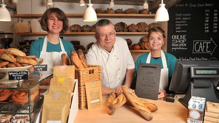 The Pump Street Bakery in Orford has won the Tiptree World Bread Awards for the Best Baguette. L-R