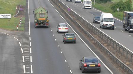 The A14 is a key route for busineses across the region.