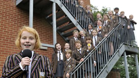 Members of the Stoke College Choir will be performing at Wembley Stadium in March with former pupil