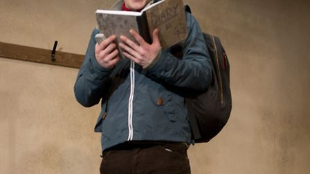 Jumpers for Goalposts at the New Wolsey, Ipswich, until October 17. Philip Duguid-McQuillan plays Lu