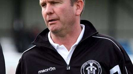 Leiston manager Danny Laws