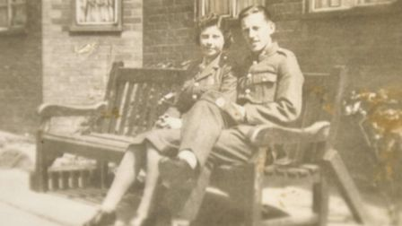 Roy and Agatha Cartwright are celebrating their 70th wedding anniversary. They met at the YMCA in Gi