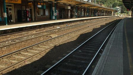 Trains into London were delayed during the morning rush hour due to overrunning engineering works