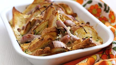Toad in the pudding from Blythburgh Pork