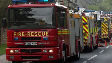 Fire crews called to Holiday Inn Express in Stansted