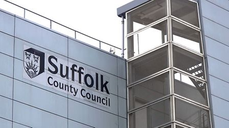 The Suffolk County Council Building on Russell Road in Ipswich
