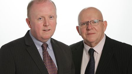 Results Consortium founders Paul Caffery, left, and Graham Cripps.