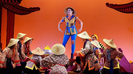 Aladdin at the Theatre Royal, in Bury St Edmunds