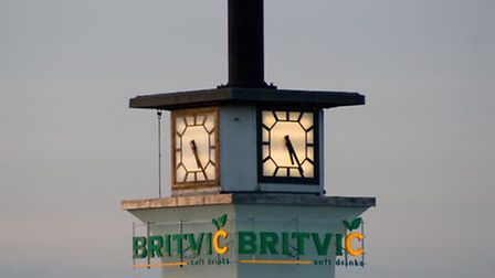 The Britvic tower in Chelmsford.