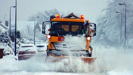 The snow forecast for parts of the UK is not expected to reach Suffolk.