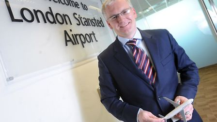 Andrew Harrison. managing director at Stansted Airport.