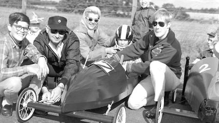 Soap Box Derby at Bentwaters September 1967