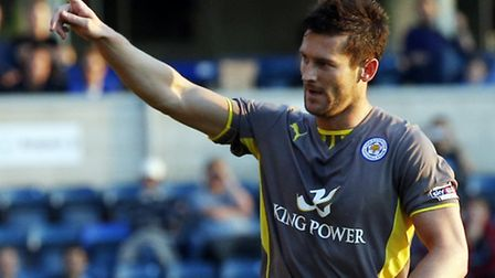 Leicester City striker David Nugent has scored 13 goals in 12 games against Ipswich Town