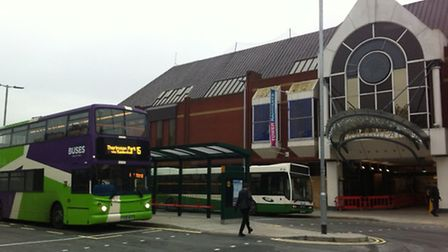 Ipswich's Tower Ramparts bus station has reopened