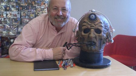 Actor Terry Molloy - Doctor Who at 50