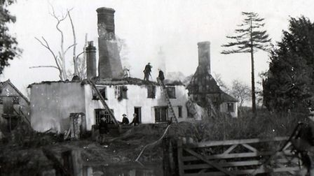 What was left of Green Farm after the crash