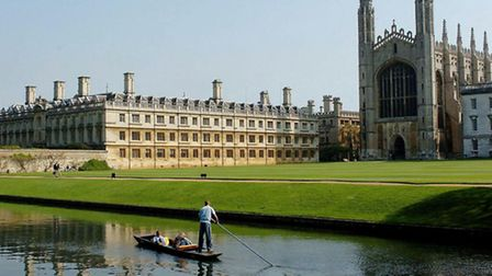 King's College Chapel and Clare College in Cambridge. The value of inbound tourism to the UK is fo