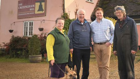 Local villagers are proposing to club together and restore The Cretingham Bell to it's former glory.