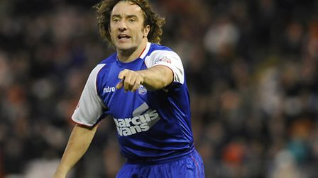 Stephen Hunt made his Ipswich Town debut as a sub at Blackpool on Saturday